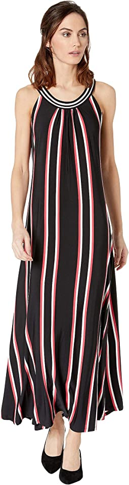Maxi Dress with Neck Detail