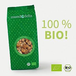 Mundo Feliz - Higos ecológicos secos, 2 bolsas de 500