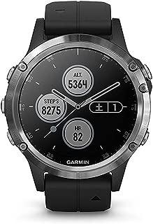 GARMIN(ガーミン) fenix 5 Plus Black 音楽再生機能 マルチスポーツ型GPSウォッチ 最大10日間稼働【日本正規品】
