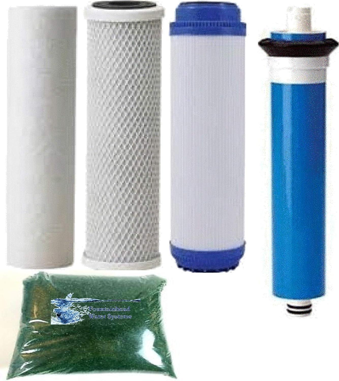 Sediment GAC Carbon Block Filter Standard Cheap bargain Refill. M Regular discount Size GPD 100