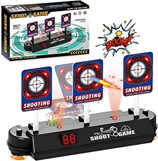 HCLKSTORE Objetivo de Tiro Eléctrico, Restablecimiento Automático de Juguete para Niños Digital Target para Nerf N-Strike ...