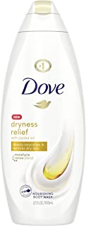 Dove Body Wash For Dry Skin Dryness Relief With Authentic Jojoba Oil 22 oz