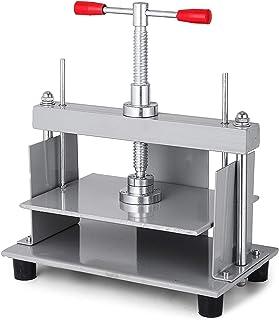 VEVOR A4 Presse à Relier Manuelle Book Binder Press Machine 30,5 x 22 cm Machine à Aplatir Le Papier en Acier Aplatir la P...