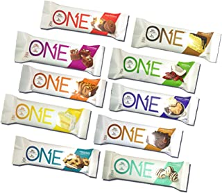 Oh Yeah! One Protein Bars Variety Pack, 12 Bars, Various Flavors - Best Tasting Protein Bars, Superior to Quest Bars, Contains Isomalto Oligosaccharides, High Fiber, High Protein, Great Healthy Snack