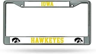 NCAA Iowa Hawkeyes Chrome Plate Frame