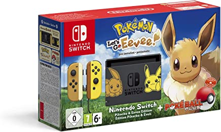 Nintendo 任天堂 Switch神奇宝贝游戏机:让我们走吧,Evoli!