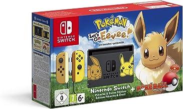Nintendo Switch Pikachu & Evoli Edition + Pokémon: Let's Go, Evoli! + Poké Ball Plus
