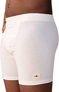 Organic Boxer Briefs Made in The USA from Hypoallergenic Hemp & Cotton