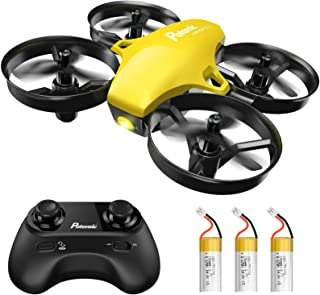 Potensic A20 Mini Drone, Easy to Fly Even to Kids and Beginners Indoor, Nano RC Helicopter Quadcopter with Auto Hovering, ...