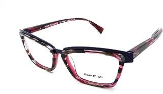Rx Eyeglasses Frames A02015 3053 53-15-140 Blue/Havana Red Italy
