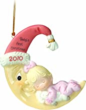 Precious Moments  Baby's First (girl) Ornament