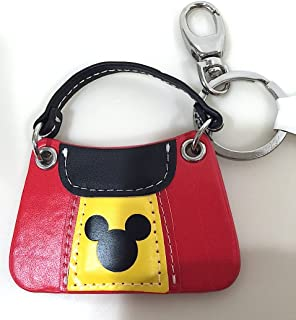 Parks Mickey Mouse Purse Keychain with Lobster Claw New