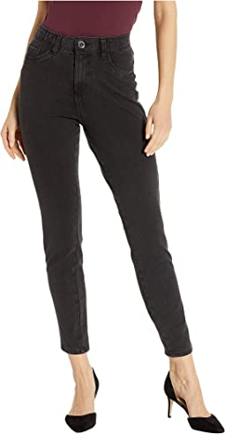 Comfy Denim Olivia Slim Ankle in Jet
