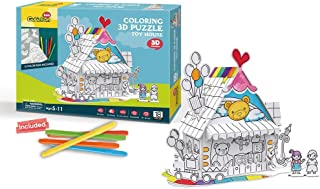 Cubic Fun P693h Arts & Crafts  5 Years & Above,Multi color