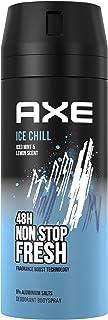 Axe Desodorante en spray Ice Chill sin sales de aluminio, 150 ml