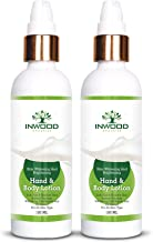INWOOD ORGANICS Skin Whitening & Brightening Hand & Body Lotion For Instant Fairness - 100 Ml Pack Of 2 (Paraben Free), 100 ml (Pack of 2)