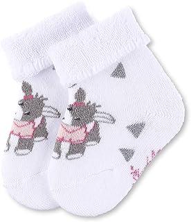 Calcetines para bebés Chica Emmi, Edad: 6-9 meses, Talla: 18, Blanco