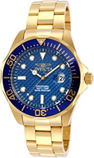 Invicta Men's 14357 Year-Round Analog Quartz Gold Watch