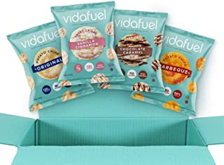 VidaFuel Healthy Chips & Sweet Crisps Variety Pack, Kidney Friendly, Heart Healthy, Dietitian Developed, No Artificial Swe...