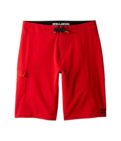 Billabong Kids All Day X Boardshorts (Big Kids) (Red) Boy