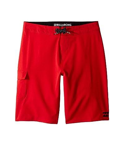 Billabong Kids All Day X Boardshorts (Big Kids) (Red) Boy