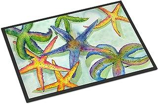 Caroline's Treasures 8542-JMAT Starfish Indoor or Outdoor Mat 24x36 8542 Doormat, 24H X 36W, Multicolor