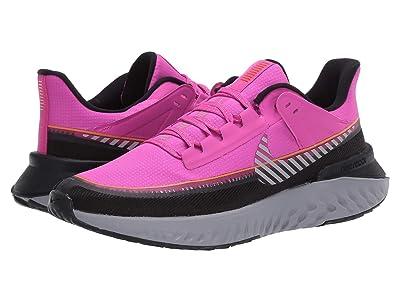 Nike Legend React 2 Shield (Fire Pink/Metallic Silver/Black) Women