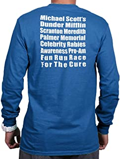 Brisco Brands Dunder Run Race Cure Funny Scranton TV Comedy Long Sleeve T Shirt