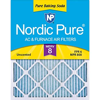 Nordic Pure 12x18x1 MERV 11 Pleated AC Furnace Air Filters 4 Pack