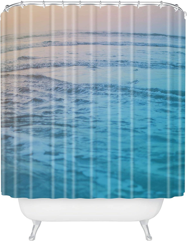 Deny Designs 爆安プライス Leah Flores Cotton Shower Waves 72