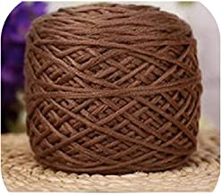 200G/Ball Thick Yarn for Knitting Sweater Scarf Hand Knitting Crochet Yarn Winter Warm Anti Pilling Worsted Blended Crochet Yarn,13 Chocolate