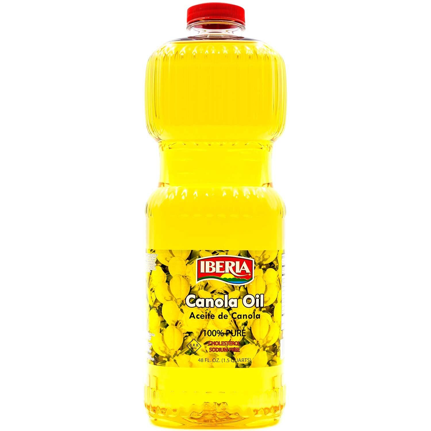 Iberia Canola Limited time for free shipping Oil Max 43% OFF Ounce 48