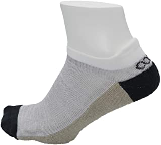 Men's Athletic Blister Free Socks | No Smell Silver Fiber| Gray, Beige & Black