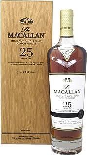 Macallan - Sherry Oak 2018 Release - 25 year old Whisky