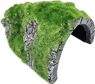 FLAMEER Nowość sztuczny żółw gady kryje żywica materiał jaskinia akwarium ornament Aqurium podwodna rzeźba krajobraz ukryt...