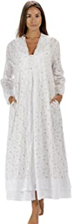 The 1 for U 100% Cotton Ladies Robe/Housecoat - Rosalind