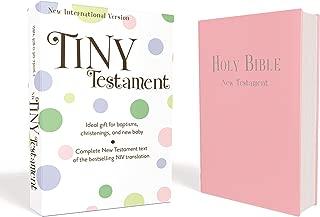 NIV, Tiny Testament Bible: New Testament, Leathersoft, Pink