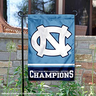 College Flags and Banners Co. UNC Tar Heels Basketball National Champs Garden Flag