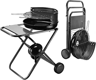 "MUJO 18"" Portable Charcoal Grill in Backyard & Garden, Barbeque Grill, Foldable BBQ Tool Camping Outdoor Cooking Hiking Pi..."