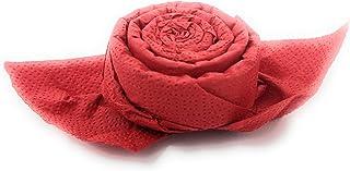 Serviettes de table rosier en rouge, ensemble de 12, pour Bapteme, Anniversaire, Communion Mariage, Souvenirs et toutes oc...