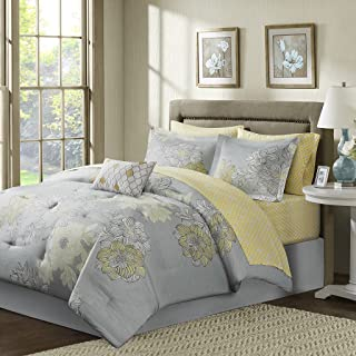 Best yellow and grey full size bedding Reviews