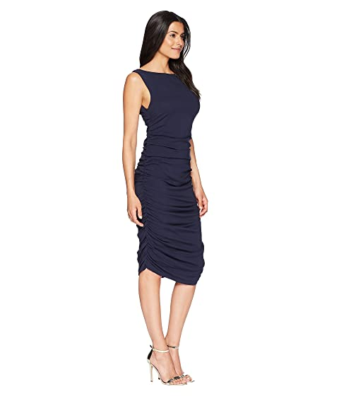 Nueva Vestido de York Indigo Cole de Kenneth tres capas wfYqx