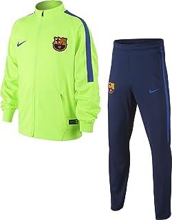 6f2115da8e86 Nike FCB y NK Dry Sqd SS T-Shirt à Manches Courtes FC Barcelone Homme