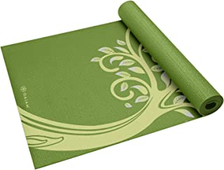Gaiam Yoga Mat - Classic 4mm Print Thick Non Slip Exercise & Fitness Mat for All Types of Yoga, Pilates & Floor Workouts (...