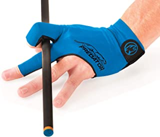 Predator Second Skin Billiard Glove Blue: Fits Left Bridge Hand