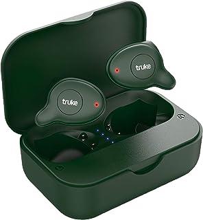 truke Fit Pro in-Ear True Wireless Bluetooth Headphones (TWS) with Mic (Basil Green)