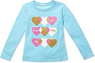 AdAms Kids Round Neck T-Shirt For Girls