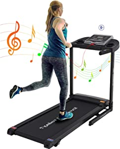Folding Treadmill for Home Small Space 2.5 HP Electric Treadmills Workout Running Machine Incline Treadmills 12 Preset Programs