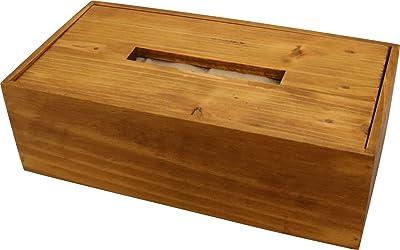 クレエ ティッシュケース パインティッシュボックス 91500032