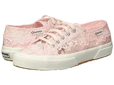 Superga 2750 Lace Sneaker (Pink) Women